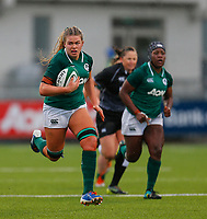 9th February 2020; Energia Park, Dublin, Leinster, Ireland; International Womens Rugby, Six Nations, Ireland versus Wales; Dorothy Wall of Ireland makes a run up the field