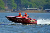 "Ken Warby ""Fury"" (racing flatbottom ski boat)"
