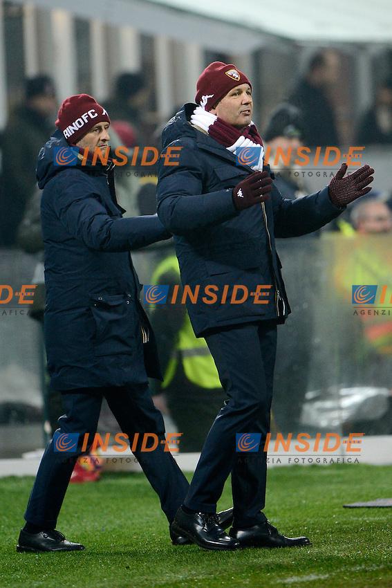 Sinisa Mihajlovic allenatore Torino coach e Attilio Lombardo<br /> Milano 12-01-2017 Stadio Giuseppe Meazza - Football Calcio Coppa Italia Milan - Torino. Foto Giuseppe Celeste / Insidefoto