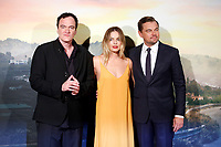 Quentin Tarantino, Margot Robbie and Leonardo Di Caprio<br /> Rome August 2nd 2019. Premiere of the film 'Once Upon a Time in Hollywood'<br /> Foto Samantha Zucchi Insidefoto