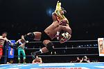 Tiger Mask vs Tatsuhito Takaiwa during the Jyushin Thunder Liger Retirement Match 1 New Japan Pro-Wrestling Wrestle Kingdom 14 at Tokyo Dome on January 4, 2020 in Tokyo, Japan. (Photo by New Japan Pro-Wrestling/AFLO)