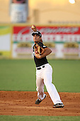 Shortstop/Third Baseman Nick Basto of Archbishop McCarthy High School, committed to Miami, participates in the Team One Futures Game East at Roger Dean Stadium on September 25, 2010 in Jupiter, Florida..  (Copyright Mike Janes Photography)