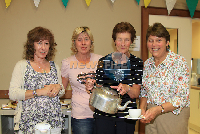 Georgina Bell-Dunne, Lisa Clarke, Margaret Dagg and Doris Rusk  at the St Peters Church of Ireland Summer Fair..Picture Fran Caffrey/www.newsfile.ie