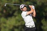Chan Shih-chang of Taiwan in action during the 58th UBS Hong Kong Golf Open as part of the European Tour on 08 December 2016, at the Hong Kong Golf Club, Fanling, Hong Kong, China. Photo by Vivek Prakash / Power Sport Images