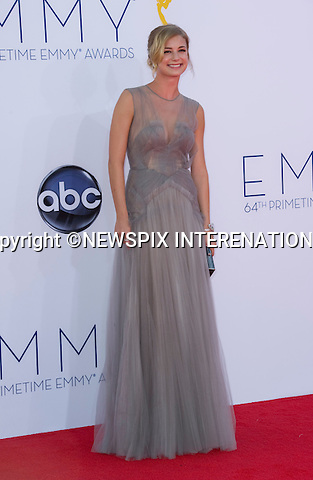 """EMILY VANCAMP - 64TH PRIME TIME EMMY AWARDS.Nokia Theatre Live, Los Angelees_23/09/2012.Mandatory Credit Photo: ©Dias/NEWSPIX INTERNATIONAL..**ALL FEES PAYABLE TO: """"NEWSPIX INTERNATIONAL""""**..IMMEDIATE CONFIRMATION OF USAGE REQUIRED:.Newspix International, 31 Chinnery Hill, Bishop's Stortford, ENGLAND CM23 3PS.Tel:+441279 324672  ; Fax: +441279656877.Mobile:  07775681153.e-mail: info@newspixinternational.co.uk"""