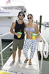 Bryan Craig & Kelly Thiebaud donated time at 15th Southwest Florida Soapfest 2014 Charity Weekend - at Cruisin' and Schmoozin' on May 25, 2104 aboard the Marco Island Princess (boat), Marco Island, Florida.  (Photo by Sue Coflin/Max Photos)