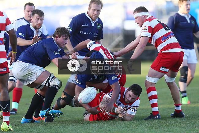 NELSON, NEW ZEALAND - JUNE 17: Div 1 Rugby Nelson v Waimea  on June 17 2017 in Nelson, New Zealand. (Photo by: Evan Barnes Shuttersport Limited)
