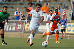08 July 2015: Fort Lauderdale's Victor Pagliari Giro PC (BRA). The Carolina RailHawks hosted the Fort Lauderdale Strikers at WakeMed Stadium in Cary, North Carolina in a North American Soccer League 2015 Fall Season match. The game ended in a 1-1 tie.