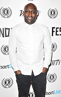 "Vauxhall Jermaine attends the ""My Hero"" Raindance Film Festival UK film premiere, Vue Piccadilly cinema, Lower Regent Street, London, England, UK, on Friday 25 September 2015. <br /> CAP/CAN<br /> ©Can Nguyen/Capital Pictures"