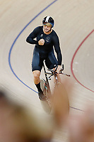 Eddie Dawkins of New Zealand clocks a new Commonwealth Games Record in the Men's 1000m Time Trial. Gold Coast 2018 Commonwealth Games, Track Cycling, Anna Meares Velodrome, Brisbane, Australia. 8 April 2018 © Copyright Photo: Anthony Au-Yeung / www.photosport.nz /SWpix.com