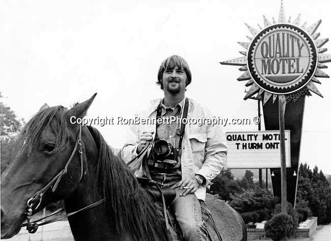 "Ron Bennett photojournalist on horse at Thurmont Maryland near Camp David, Fine art Photography and Stock Photography by Ronald T. Bennett Photography ©, FINE ART and STOCK PHOTOGRAPHY FOR SALE, CLICK ON  ""ADD TO CART"" FOR PRICING,"