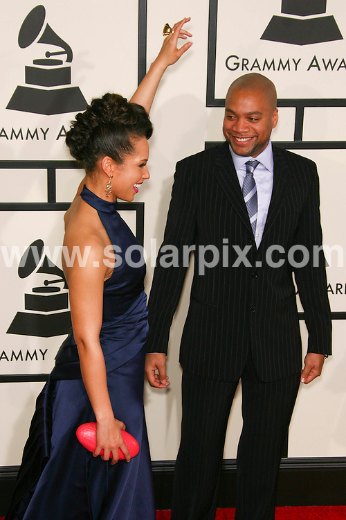 **ALL ROUND PICTURES FROM SOLARPIX.COM**.**SYNDICATION RIGHTS FOR UK, SPAIN, PORTUGAL, AUSTRALIA, S.AFRICA & DUBAI (U.A.E) ONLY**.the 50th Annual GRAMMY awards - Arrivals at the Staples Center, Los Angeles, CA, USA. 10th February 2008..This pic: Alicia Keys..JOB REF: 5754 PHZ    DATE: 10_02_2008.**MUST CREDIT SOLARPIX.COM OR DOUBLE FEE WILL BE CHARGED* *UNDER NO CIRCUMSTANCES IS THIS IMAGE TO BE REPRODUCED FOR ANY ONLINE EDITION WITHOUT PRIOR PERMISSION*