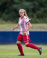 Lisa Milliken of Stevenage Ladies during the pre season friendly match between Stevenage Ladies FC and Watford Ladies at The County Ground, Letchworth Garden City, England on 16 July 2017. Photo by Andy Rowland / PRiME Media Images.