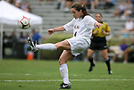 18 September 2009: LSU's Allysha Chapman (CAN). The University of North Carolina Tar Heels defeated the Louisiana State University Tigers 1-0 at Koskinen Stadium in Durham, North Carolina in an NCAA Division I Women's college soccer game.