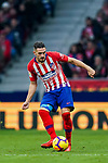 Jorge Resurreccion Merodio, Koke, of Atletico de Madrid in action during the La Liga 2018-19 match between Atletico de Madrid and RCD Espanyol at Wanda Metropolitano on December 22 2018 in Madrid, Spain. Photo by Diego Souto / Power Sport Images