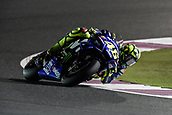 16th March 2018, Losail International Circuit, Lusail, Qatar; Qatar Motorcycle Grand Prix, Friday evening free practice; Valentino Rossi (Movistar Yamaha)