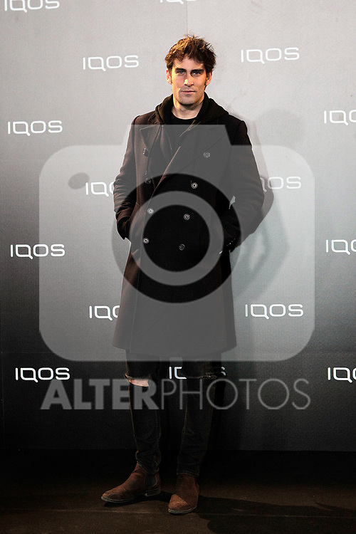 Mateo Conde attends to IQOS3 presentation at Palacio de Cibeles in Madrid. February 10,2019. (ALTERPHOTOS/Alconada)