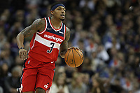 17th January 2019, The O2 Arena, London, England; NBA London Game, Washington Wizards versus New York Knicks; Bradley Beal of the Washington Wizards