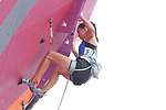 Akiyo Noguchi (JPN), <br /> AUGUST 26, 2018 - Sport Climbing : <br /> Women's Combined Final Lead <br /> at Jakabaring Sport Center Sport Climbing <br /> during the 2018 Jakarta Palembang Asian Games <br /> in Palembang, Indonesia. <br /> (Photo by Yohei Osada/AFLO SPORT)
