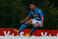 Dries Mertens  of Napoli during a preseason friendly soccer match against Aunania in Dimaro's Stadium   12 July 2017