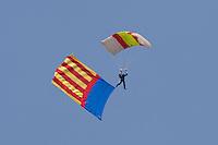 PAPEA Paracaidistas / parachutists. V FESTIVAL AEREO CIUDAD DE VALENCIA, 19/10/2008 - Playa de la Malvarrosa / Malvarrosa beach, Valencia, España / Spain