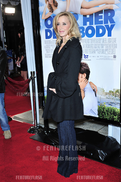 """Felicity Huffman at the Los Angeles premiere of """"Over Her Dead Body"""" at the Arclight Theatre, Hollywood..January 29, 2008  Los Angeles, CA.Picture: Paul Smith / Featureflash"""