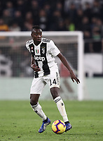 Calcio, Serie A: Juventus - Caglairi, Turin, Allianz Stadium, November 3, 2018.<br /> Juventus' Blaise Matuidi in action during the Italian Serie A football match between Juventus and Cagliari at Torino's Allianz stadium, November 3, 2018.<br /> UPDATE IMAGES PRESS/Isabella Bonotto