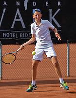 Netherlands, Rotterdam August 05, 2015, Tennis,  National Junior Championships, NJK, TV Victoria, Stijn Paardekoper  Teun Rozenberg<br /> Photo: Tennisimages/Henk Koster
