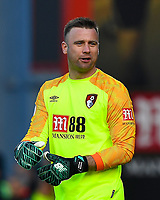 Artur Boruc of AFC Bournemouth during AFC Bournemouth vs Wolverhampton Wanderers, Premier League Football at the Vitality Stadium on 23rd February 2019