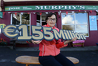 21-9-2017:  Mary Murphy, Post Mistress, Rerrin Post Office on Bere Island in County Cork pictured outside her shop on Thursday after she sold a 500,000 Euro Millions Plus ticket and looking forward to the massive &euro;155,000,000 Euro Millions this weekend.<br /> Photo: Don MacMonagle<br /> <br /> Issued on behlf of The National Lottery