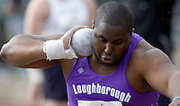 18 MAY 2008 - LOUGHBOROUGH, UK - Emeka Udechuku - Shot - Loughborough International Athletics. (PHOTO (C) NIGEL FARROW)
