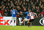 28.11.2019: Feyenoord v Rangers: Jens Toornstra scores