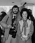 Washington DC, 2/24/77. At State Department Shirley Temple (Chief of Protocol) with photographer Ron Bennett