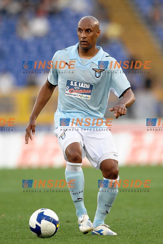 """Ousmane Dabo Lazio.Roma 20/5/2009 Stadio """"Olimpico"""".Campionato Italiano Serie A.Lazio - Reggina 1-0 .Foto Andrea Staccioli Insidefoto"""