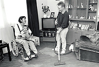 Carer & disabled mother, UK 1991