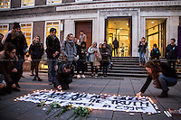 "10.02.2016 - ""#We All Are Giulio"" - Vigil at SOAS for Giulio Regeni"