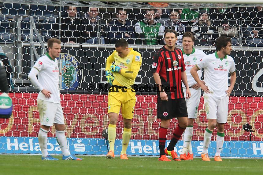 Raphael Wolf (Werder) angeschlagen - Eintracht Frankfurt vs. SV Werder Bremen
