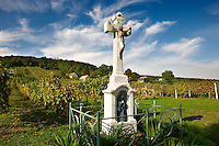Cross of the blue Madonna - Korseg Wineyards, Velem, Hungary