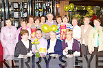 COFFEE MORN: Enjoying the Irish Cancer Society coffee morning in the Killarney Towers Hotel on Friday were front l-r: Kathleen O'Shea, Eugene O'Sullivan, Sr Anna and Kathrina Breen. Back l-r: Kathleen Shea, Nora O'Sullivan, Eileen Mayse, Marie Doyle, Janet, Timmy and Nora Moriarty, Betty O'Sullivan, Breda Moriarty, Maureen Fogarty and Bernadette Horgan.
