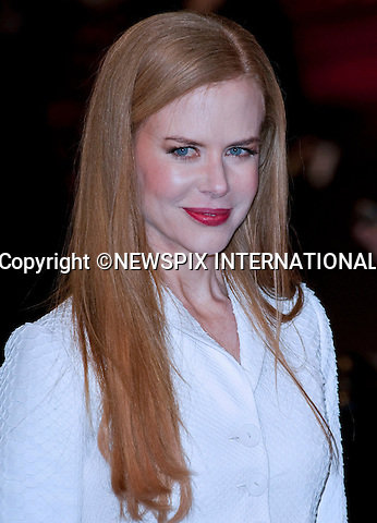 "Nicole Kidman.World Premiere of NINE.Attended by the all star cast including Daniel Day-Lewis, Penelope Cruz, Dame Judi Dench, Kate Hudson and Nicole Kidman_Odeon Leicester Square_London, 03/12/2009..Mandatory Photo Credit: ©Dias/Newspix International..**ALL FEES PAYABLE TO: ""NEWSPIX INTERNATIONAL""**..PHOTO CREDIT MANDATORY!!: NEWSPIX INTERNATIONAL(Failure to credit will incur a surcharge of 100% of reproduction fees)..IMMEDIATE CONFIRMATION OF USAGE REQUIRED:.Newspix International, 31 Chinnery Hill, Bishop's Stortford, ENGLAND CM23 3PS.Tel:+441279 324672  ; Fax: +441279656877.Mobile:  0777568 1153.e-mail: info@newspixinternational.co.uk"
