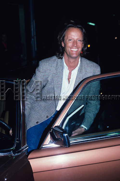 Peter Fonda photographed in September 1986 in Los Angeles.