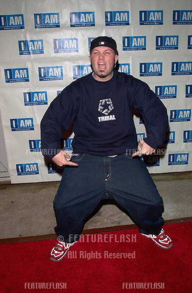 21MAR2000:  Pop star FRED DURST of Limp Bizkit at launch party for entertainment website IAM.COM in Los Angeles..© Paul Smith / Featureflash