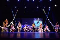 MIAMI, FL - SEPTEMBER 29: Pek˙ti, Yawavana, Matsini, Wannu, KenewecÌ, Meu, Matsa Hushahu and Hukena performs during the Journey to Mutum: A Cultural Encounter with the Yawanaw· Tribe of the Brazilian Amazon at Miami Theater Center on September 29, 2016 in Miami, Florida. Credit: MPI10 / MediaPunch