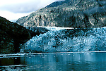 AK: Glacier Bay National Park, Alaska, Margerie Glacier    .Photo Copyright: Lee Foster, lee@fostertravel.com, www.fostertravel.com, (510) 549-2202.Image: akglac204