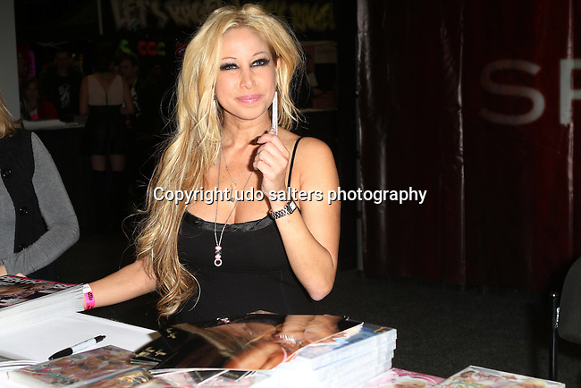 Adult Film Actress Gina Lynn Attends EXXXOTICA 2012 at the NJ Expo Center, Edison NJ   11/10/12