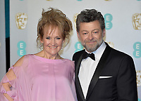 LONDON, UK - FEBRUARY 10:  Lorraine Ashbourne, Andy Serkis at the 72nd British Academy Film Awards held at Albert Hall on February 10, 2019 in London, United Kingdom. <br /> CAP/MPI/IS<br /> ©IS/MPI/Capital Pictures