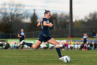 Sky Blue FC defender Caitlin Foord (4). Sky Blue FC defeated the Western New York Flash 1-0 during a National Women's Soccer League (NWSL) match at Yurcak Field in Piscataway, NJ, on April 14, 2013.