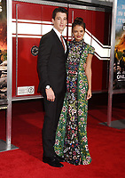 WESTWOOD, CA - OCTOBER 08: Actor Miles Teller (L) and Keleigh Sperry arrive at the Premiere Of Columbia Pictures' 'Only The Brave' at Regency Village Theatre on October 8, 2017 in Westwood, California.<br /> CAP/ROT/TM<br /> &copy;TM/ROT/Capital Pictures