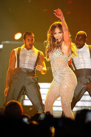 Jennifer Lopez performance at Boardwalk Hall in Atlantic City, New Jersey on July 29, 2012  © Star Shooter / MediaPunchInc
