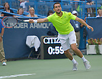 Marin Cilic (FRA)  defeats Sam Query (USA), 7-6, 7-6 at the Citi Open in Washington, DC,  on August 6, 2015.